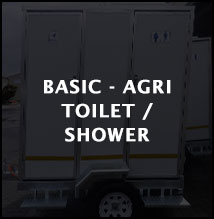 Toilets and shower combinations