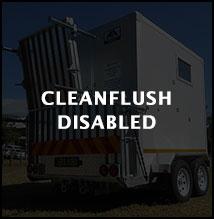 cleanflush disabled range