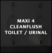 Maxi 4 cleanflush toilet or urinal